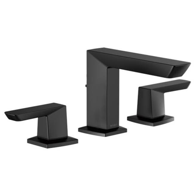 Brizo Bathroom Sink Faucets Widespread Black | Deluxe Vanity ...