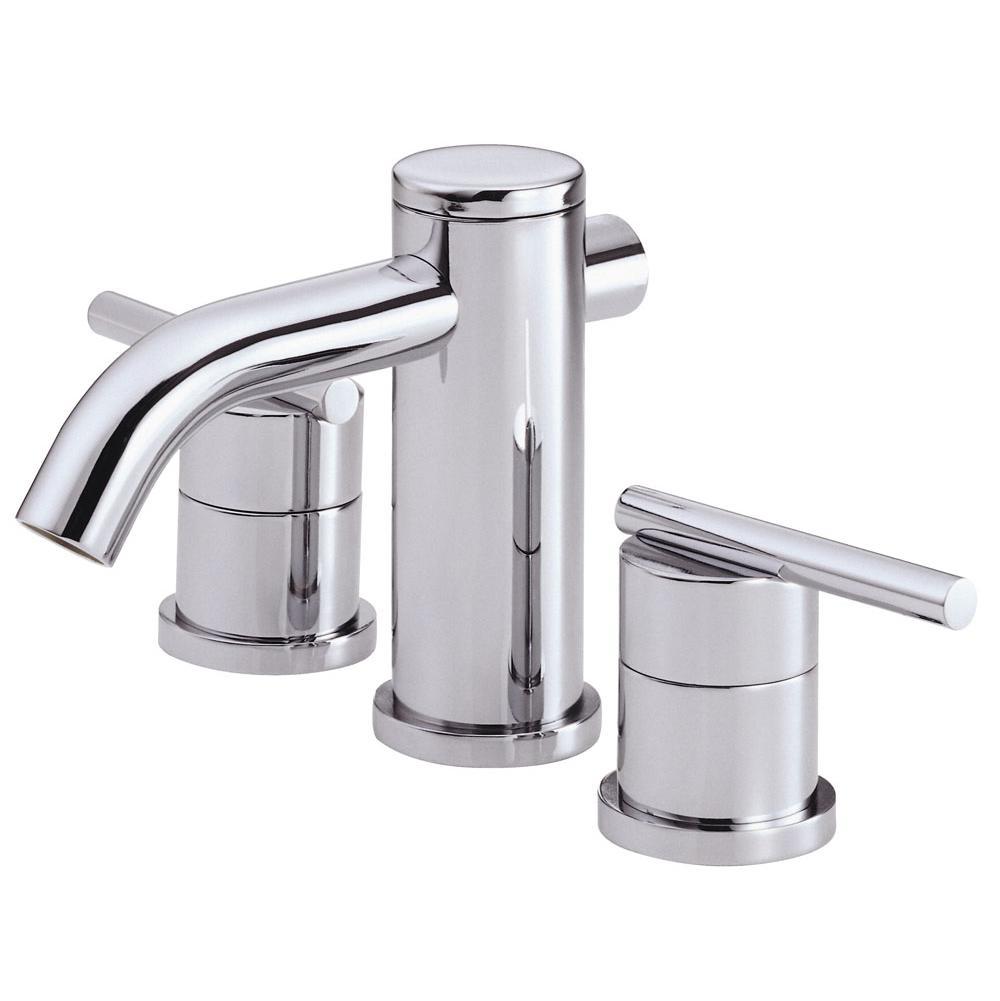 Bathroom Sink Faucets Mini Widespread | Deluxe Vanity & Kitchen ...