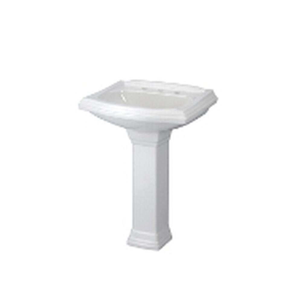 Gerber Plumbing Sinks Pedestal Bathroom Sinks | Deluxe Vanity ...