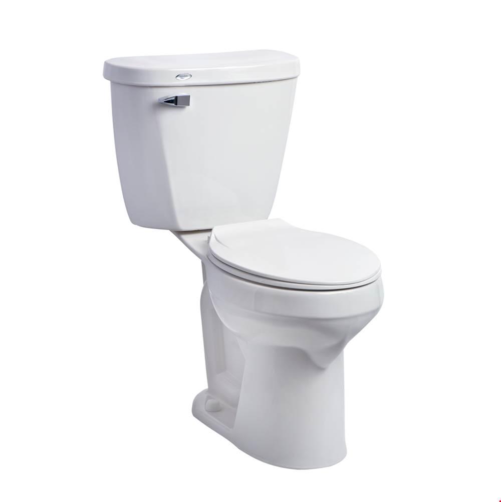 Ada toilet Toilets Two Piece Floor Mount White   Deluxe Vanity ...