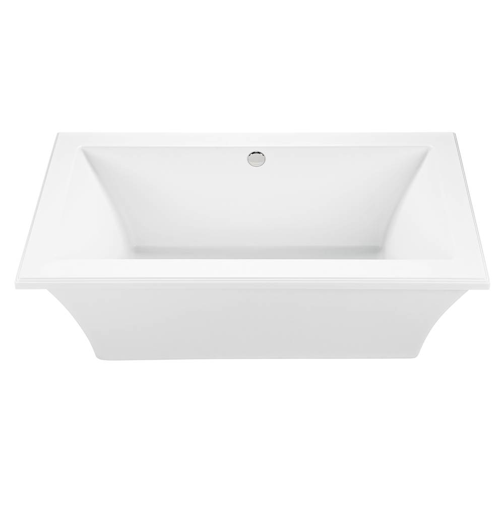MTI Baths Free Standing Air Bathtubs item AST136-WH