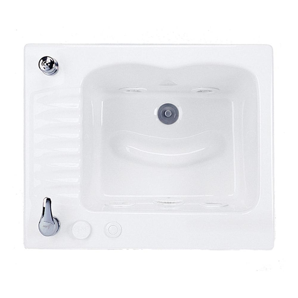 MTI Baths Drop In Whirlpool Bathtubs item MTLS110JPCLV-AL