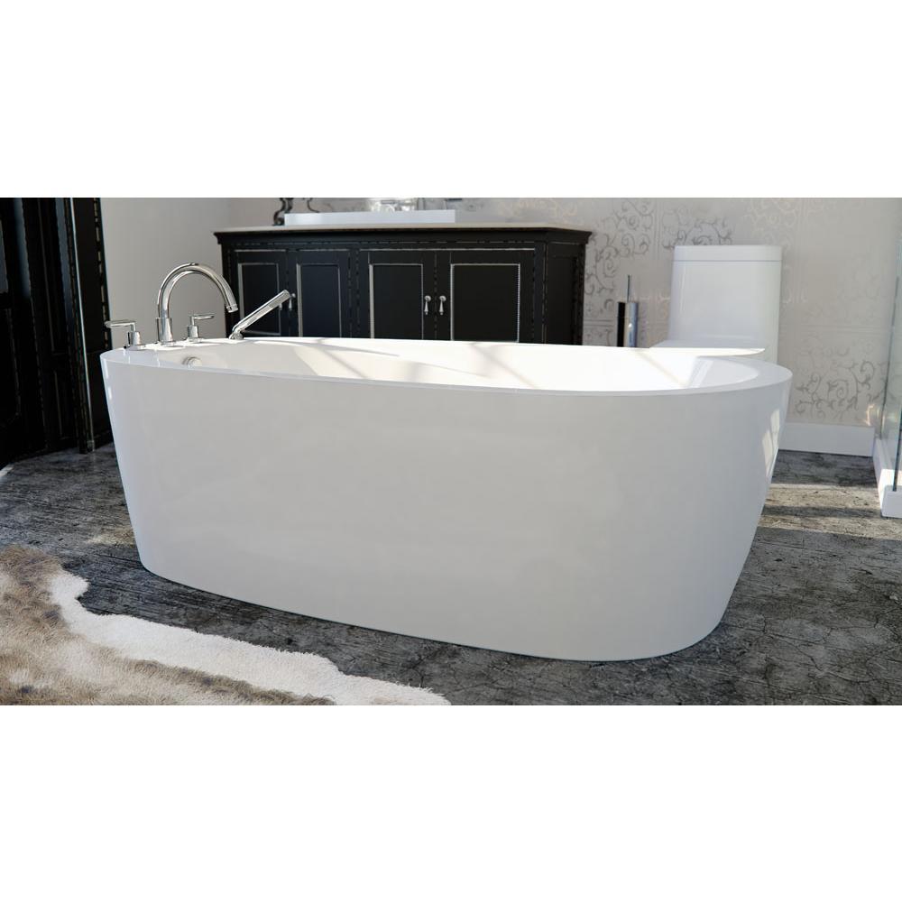 Neptune Bathroom Air Bathtubs Free Standing Vapora White White ...