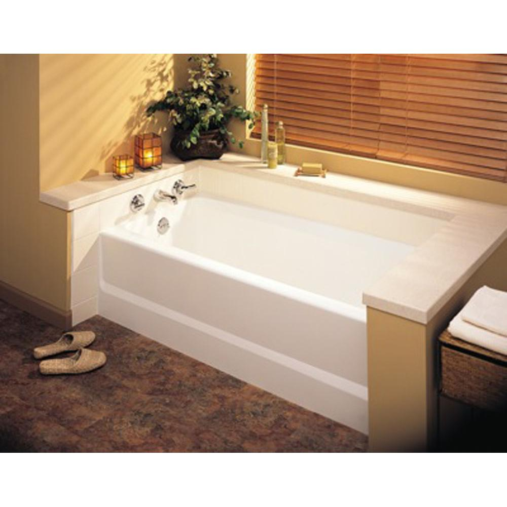 shop drain acrylic tub white in pd hand with jacuzzi primo alcove bathtub right