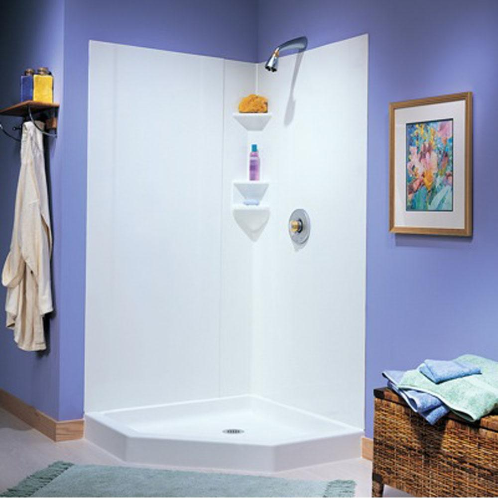 Bathroom Showers Shower Enclosures White | Deluxe Vanity & Kitchen ...